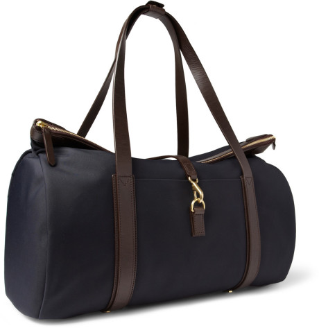 A weekend Canvas Holdall Bag - Hush