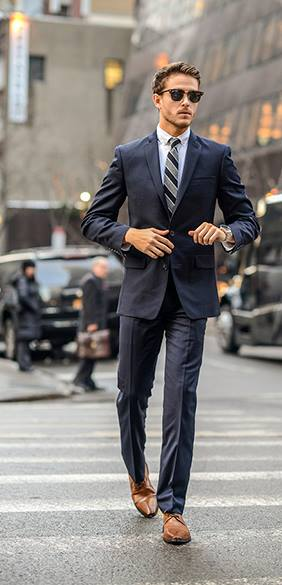 A Fashion paradox – Would you wear Brown shoes with a Black suit ...