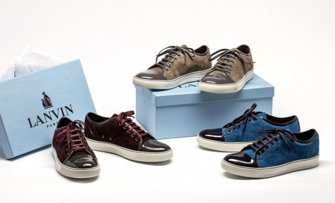 LANVIN Sneakers men