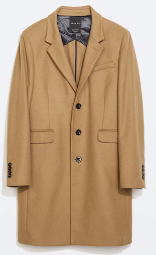 Zara mens coat