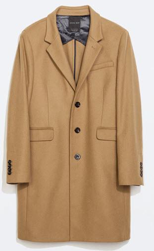 Zara mens coat