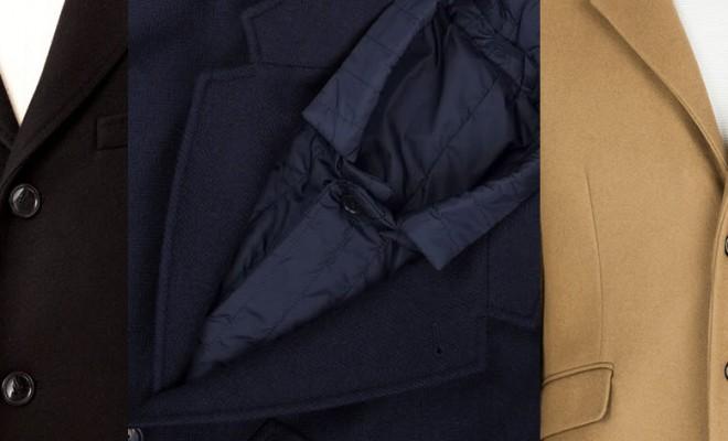 Wool coat for men