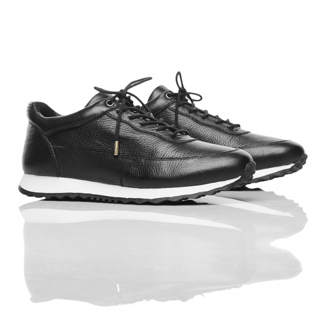 beast runner black men shoes