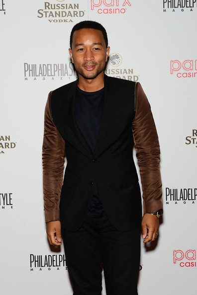 john legend dressed up