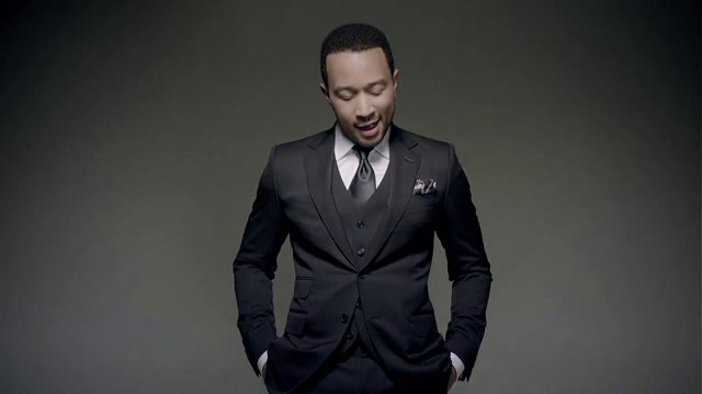 Suit and tie john legend