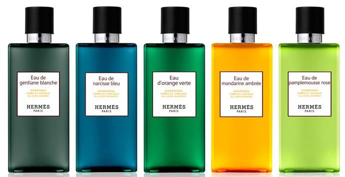 Hermés shower gel