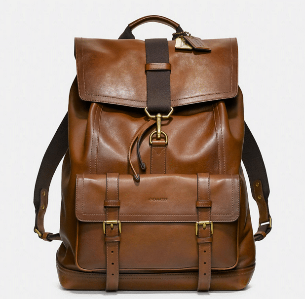 Leather Bleecker Backpack