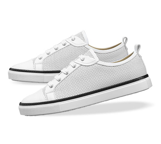 Hermes sneakers white side