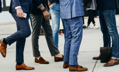 Fashion paradoxes – Would you wear brown shoes with a black suit