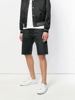 Denim shorts - SAINT LAURENT
